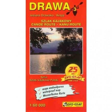 DRAWA - szlak kajakowy