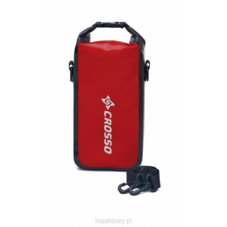 Torebka wodoszczelna Crosso Mini Bag 2l - czerwony