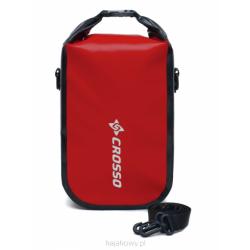 Torebka wodoszczelna Crosso Mini Bag 5l - czerwony