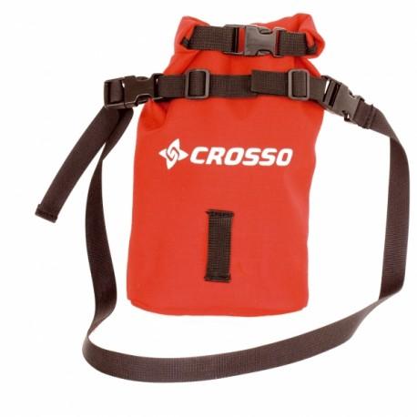 Torebka wodoszczelna Crosso Pocket 2 - czerwony