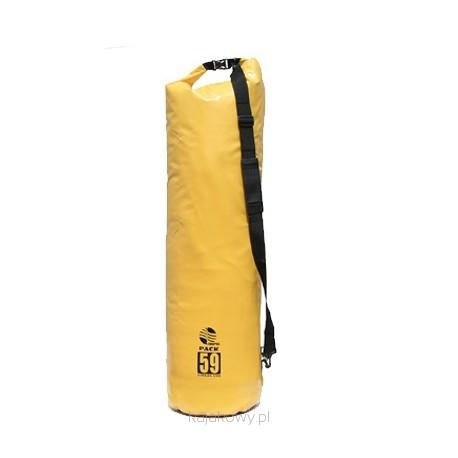 Worek kajakowy Aquarius Pack 59l żółty