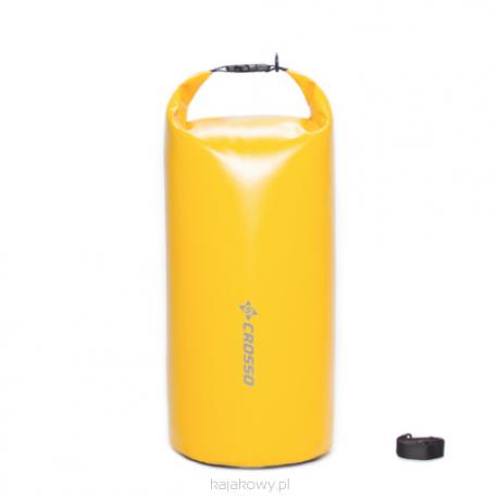 Worek kajakowy Crosso Dry Bag 20l - żółty